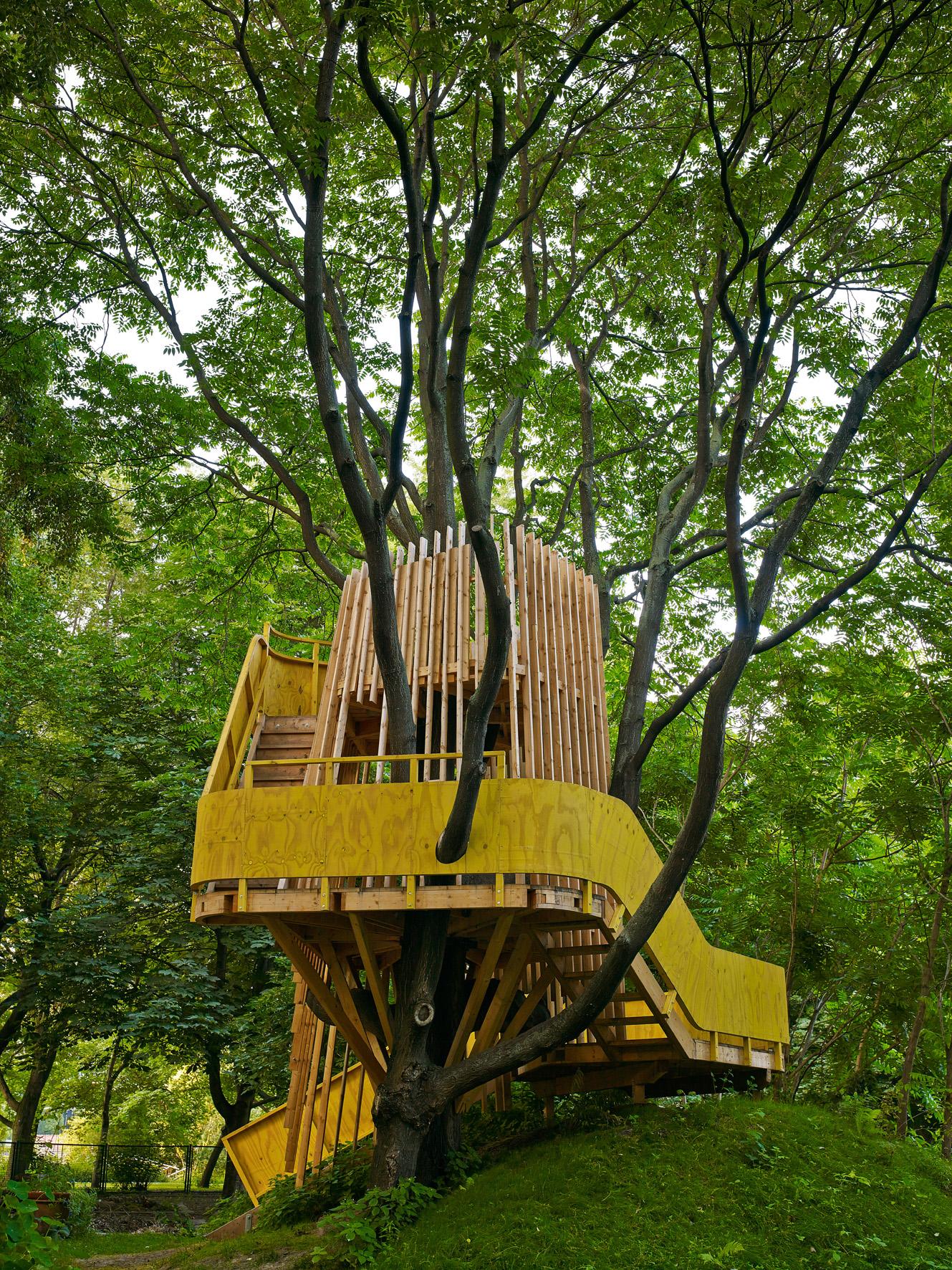 lust auf natur und baumhaus auf zum baumhaus fischerinsel. Black Bedroom Furniture Sets. Home Design Ideas