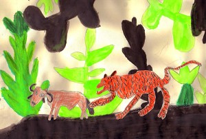 Tiger Zeune neu